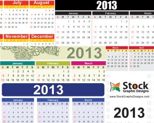 2013-free-vector-calendar