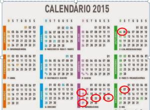 Algunas fechas para el resto de 2015!