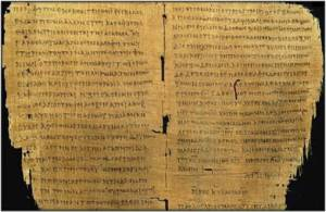 Papiro 66 (p66), 200 d. C.