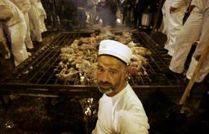 Los samaritanos modernos celebran la Pascua en Gerizín